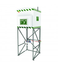 Justrite 317 Gal. Emergency Tank Shower with Eyewash Station
