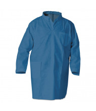 KleenGuard A20 Breathable Particle Protection Professional Jacket, Large, Blue, 15/Pack