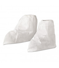 KleenGuard A20 Boot Covers, MICROFORCE Barrier SMS Fabric, One Size, White, 300/Pack