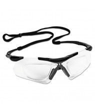 Jackson V60 Nemesis Rx Reader Safety Glasses, Black Frame, Clear Anti-Fog Lens,12/Pack