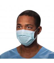 Kimberly-Clark Professional Procedure Mask, Pleat-Style w/Ear Loops, Blue, 500/Pack