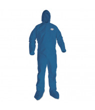 KleenGuard A20 Breathable Particle Protection Coveralls, X-Large, Blue, 24/Pack