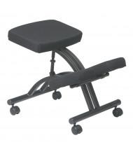 Office Star Work Smart Memory Foam Fabric Ergonomic Kneeling Chair