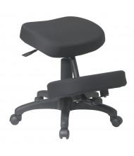 Office Star Work Smart 5-Star Base Memory Foam Fabric Ergonomic Kneeling Chair