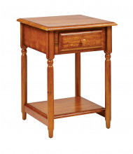 Office Star KH17 Accent Table in Cherry