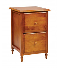 Office Star KH30 Letter Size File Cabinet in Cherry Veneer