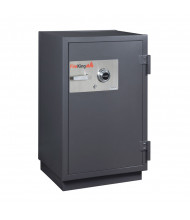 FireKing KR3115-2 2-Hour Fire 4.9 cu. ft. RSC Burglary Rated Safe (Shown in Graphite with Dial Lock)