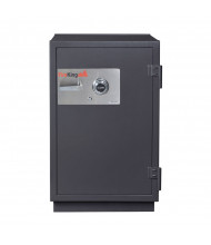 FireKing KR3121-2 2-Hour Fire 6.9 cu. ft. RSC Burglary Rated Safe (Shown in Graphite with Dial Lock)