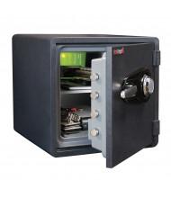 FireKing KY1313-1 1-Hour Fire 1.23 cu. ft. ETL Fire Rated Safe (Dial Combination Lock Shown)