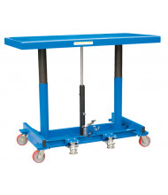 Vestil Ergonomic Long Deck 2000 lb Load Carts