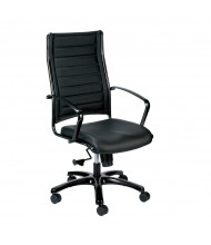 Eurotech Europa LE111TNM Leather High-Back Executive Office Chair