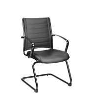 Eurotech Europa LE333TNM Leather Low-Back Guest Chair