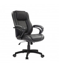 Eurotech Pembroke LE522 Spring Cushion Leather Mid-Back Managers Chair