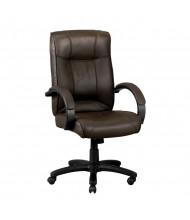 Eurotech Odyssey LE9406BRN Leather High-Back Executive Office Chair