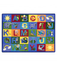 Joy Carpets Learning Letter Sounds Rectangle Classroom Rug