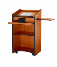 Oklahoma Sound Aristocrat Floor Lectern Podium (Shown in Cherry)