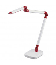 "Black & Decker PureOptics 29.5"" H LED Architect Desk Lamp, White"