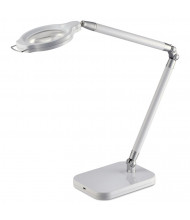 "Black & Decker PureOptics Summit Zoom 29"" H Architect Magnifier LED Desk Lamp, White"