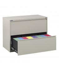 """Office Star 2-Drawer 36"""" W Lateral File Cabinet, Letter & Legal (Shown in Putty)"""