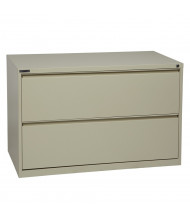 "Office Star 2-Drawer 42"" W Lateral File Cabinet, Letter & Legal (Shown in Putty)"