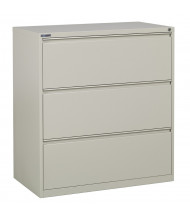 "Office Star 3-Drawer 36"" W Lateral File Cabinet, Letter & Legal (Shown in Putty)"