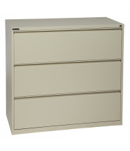 "Office Star 3-Drawer 42"" W Lateral File Cabinet, Letter & Legal (Shown in Putty)"