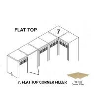 Tennsco Flat Top Corner Filler