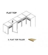 Tennsco Locker Flat Top Filler