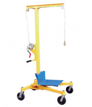 "Vestil LIFTER-2 500 lb Load Portable Hand Crank Worksite 70"" Lift"