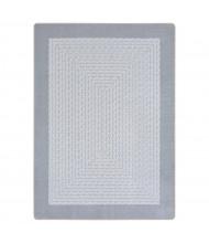 Joy Carpets Like Home Classroom Rug, Silver