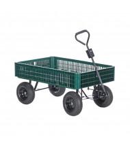 Vestil LSC-3052-PCW Plastic Crate Landscaping Cart