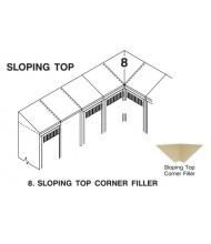 Tennsco Sloping Top Corner Filler