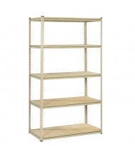 "Tennsco 5-Shelf 18"" D Open-Back Shelving Unit"