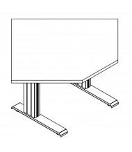"RightAngle Eficiente LT Electric 27"" - 47"" H Diagonal Corner Height Adjustable Standing Desk"