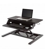 Luxor Level Up Pro Sit-Stand Converter Desk Riser, (Shown in Black)