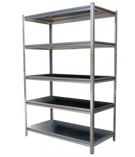 "Vestil 72""H Stainless Steel Solid Rivet Shelving"