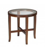 "Mayline Illusion M106R 22"" Dia. End Table"