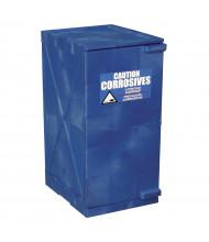 Eagle 12 Gal Polyethylene Corrosive Chemical Modular Storage Cabinets (Shown in Blue)