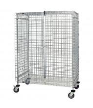 Quantum Storage Chrome Wire Security Carts