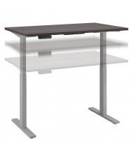 """Bush 48"""" W x 30"""" D Laminate Top Electric 27"""" - 47"""" Height Adjustable Standing Desk (Shown in Grey / Grey)"""