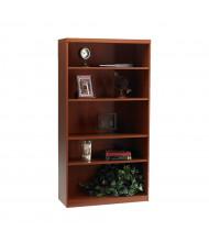 Mayline Aberdeen AB5S36 5-Shelf Bookcase (Shown in Cherry)