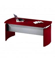 "Mayline ND63 Napoli 63"" Floating Desk (Shown in Sierra Cherry)"