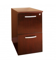 Mayline Napoli NFF 2-Drawer File/File Pedestal Cabinet (Shown in Sierra Cherry)