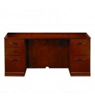 "Mayline SCBF72 Sorrento 72"" Double Pedestal Desk Credenza (Shown in Bourbon Cherry)"