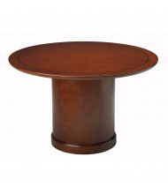 "Mayline SCR48 Sorrento 48"" Round Conference Table (Shown in Bourbon Cherry)"