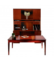 Mayline Sorrento ST17 Table Desk Office Set (Shown in Bourbon Cherry)