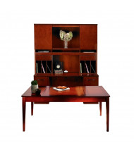 Mayline Sorrento ST18 Table Desk Office Set (Shown in Bourbon Cherry)