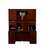 Mayline Sorrento ST23 Office Desk Set (Shown in Bourbon Cherry)