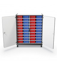 Mooreco Essentials 40 Tub Mobile Storage Cart