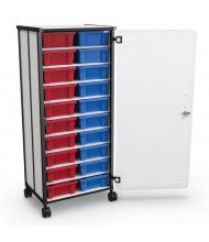 Mooreco Essentials 20 Tub Mobile Storage Cart